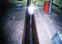 水道本管布設施工状況
