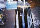 下水取付管施工状況