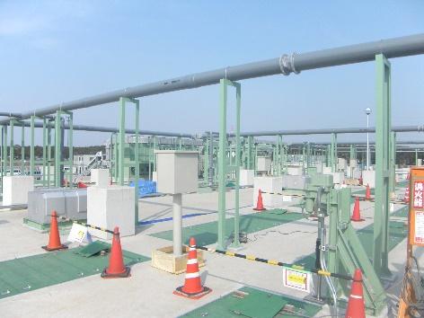中川流域処理場9号水処理最初沈殿池脱臭ダクト設備工事