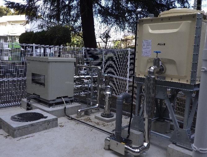 大宮北高等学校散水装置改修工事