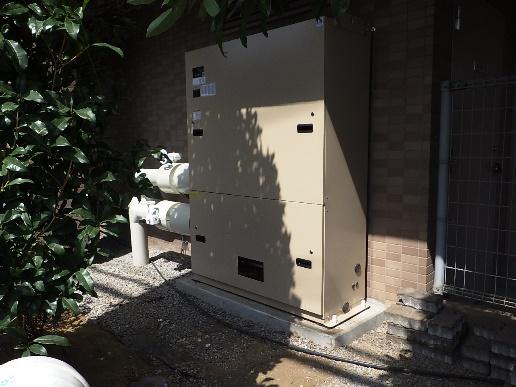 朝日パリオ浦和辻直結増圧給水改修工事